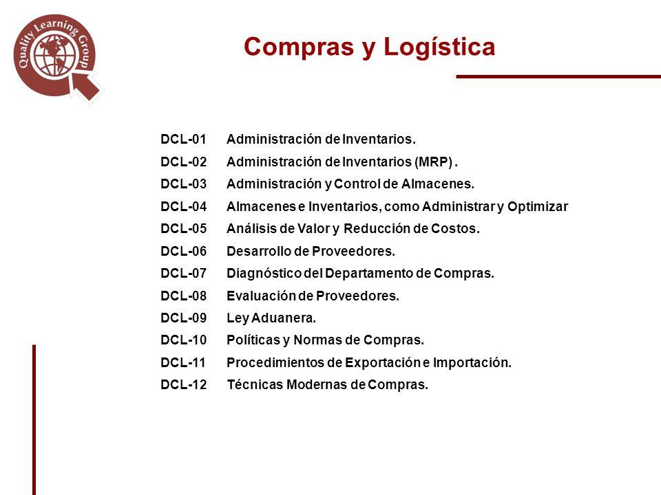 Compras y Logística DCL-01Administración de Inventarios.