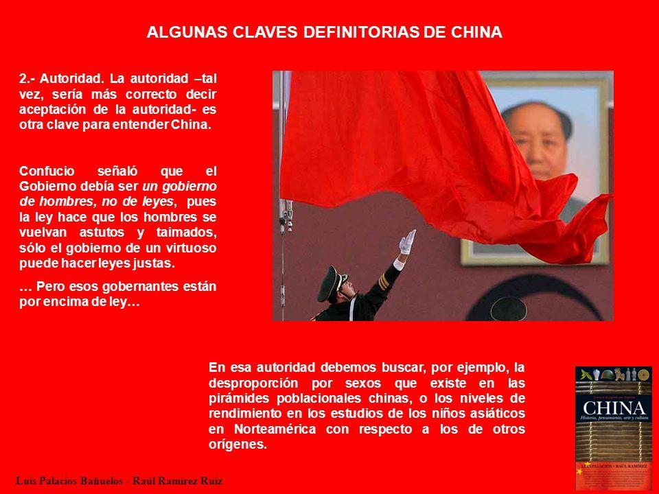 ALGUNAS CLAVES DEFINITORIAS DE CHINA 3.- Funcionariado.
