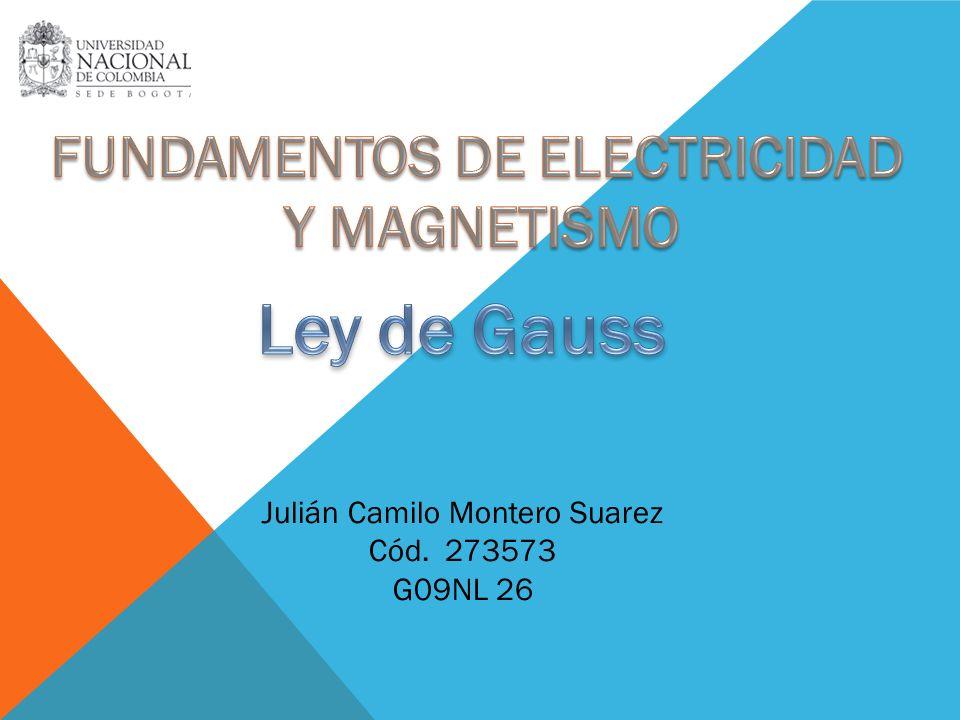 Julián Camilo Montero Suarez Cód. 273573 G09NL 26
