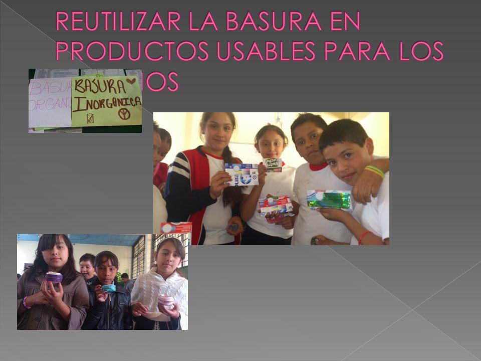 Se realizaron diferentes actividades programadas con todos los alumnos de la escuela como: Recolección de basura en los patios Cuidado de áreas verdes Separación de basura