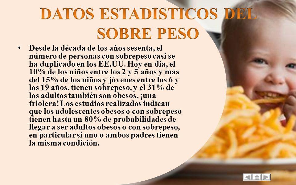 Chile, Bolivia, Perú y Uruguay son los países que encabezan la lista con la mayor tasa de obesidad en menores de cinco años, según un estudio realizad