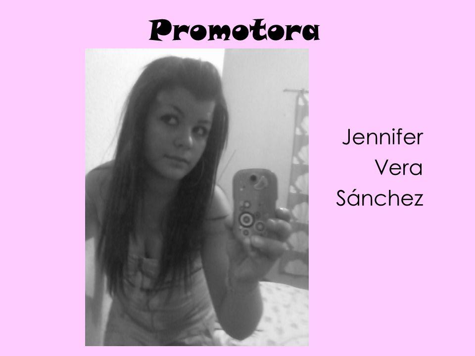 Promotora Jennifer Vera Sánchez