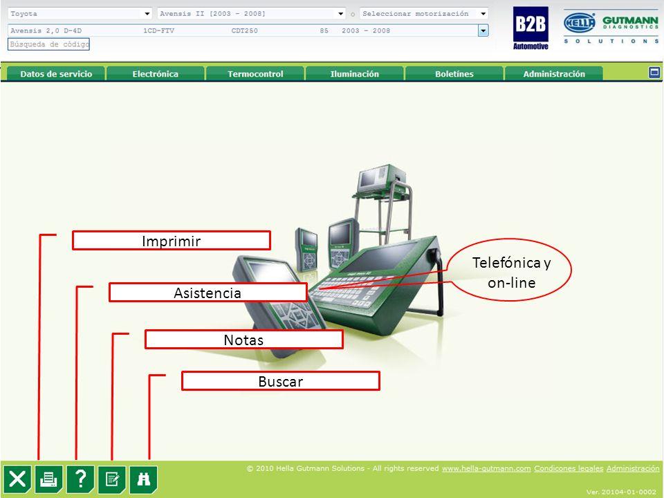 33 Imprimir Asistencia Notas Buscar Telefónica y on-line