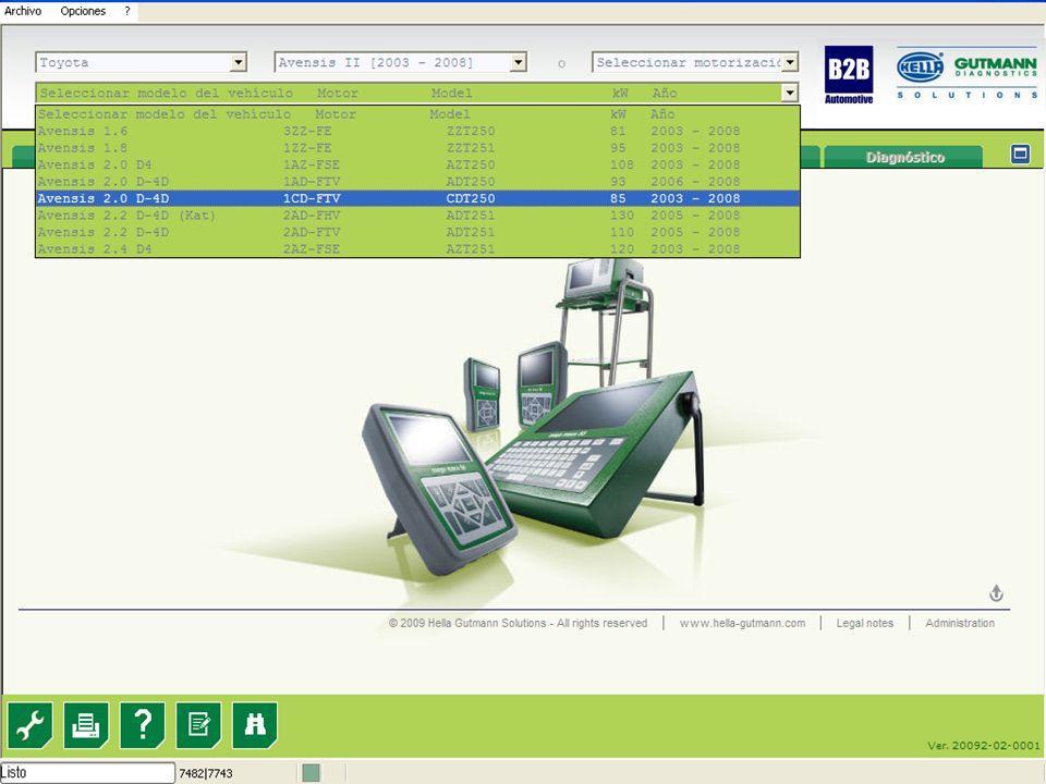 7 Esquema de Servicio Selección servicio Índice Integrado con TecDoc...