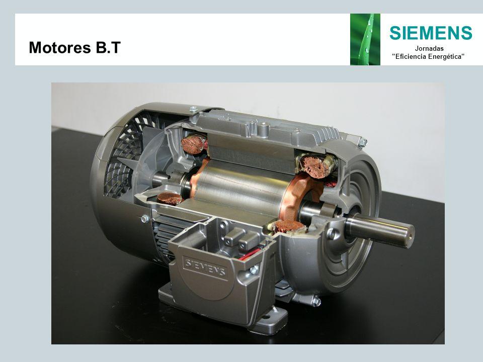 SIEMENS Jornadas Eficiencia Energética Motores B.T