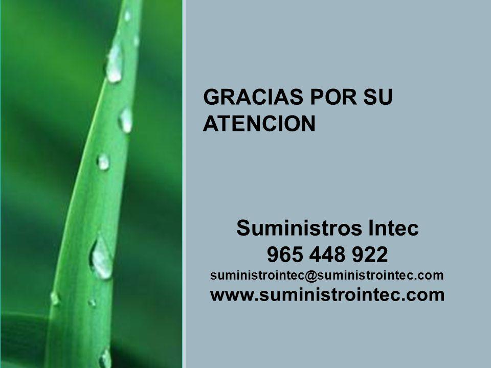 SIEMENS Jornadas Eficiencia Energética GRACIAS POR SU ATENCION Suministros Intec 965 448 922 suministrointec@suministrointec.com www.suministrointec.c