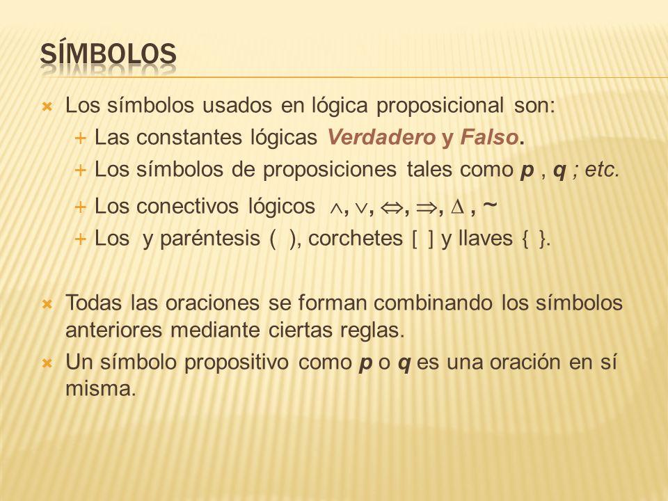 Los conectivos o conectores lógicos son símbolos que permiten obtener nuevas proposiciones a partir de proposiciones simples, llamadas también proposiciones atómicas.