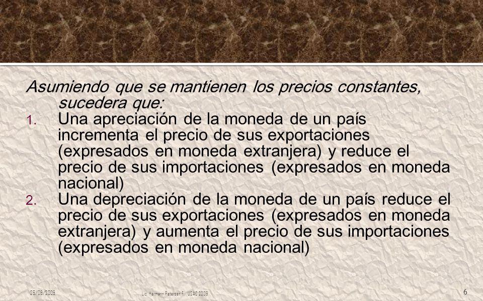 En el ambiente latinoamericano, es usual que: 1.El sistema financiero está altamente dolarizado.