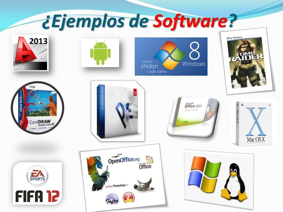 ¿Qué es Software? Se conoce como s ss software al equipamiento lógico o soporte lógico de una computadora digital; comprende el conjunto de los compon