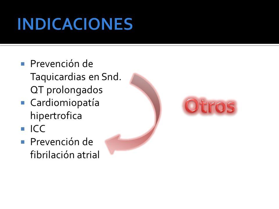 Prevención de Taquicardias en Snd.