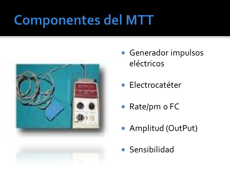 Generador impulsos eléctricos Electrocatéter Rate/pm o FC Amplitud (OutPut) Sensibilidad