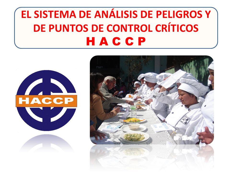 EL SISTEMA DE ANÁLISIS DE PELIGROS Y DE PUNTOS DE CONTROL CRÍTICOS H A C C P