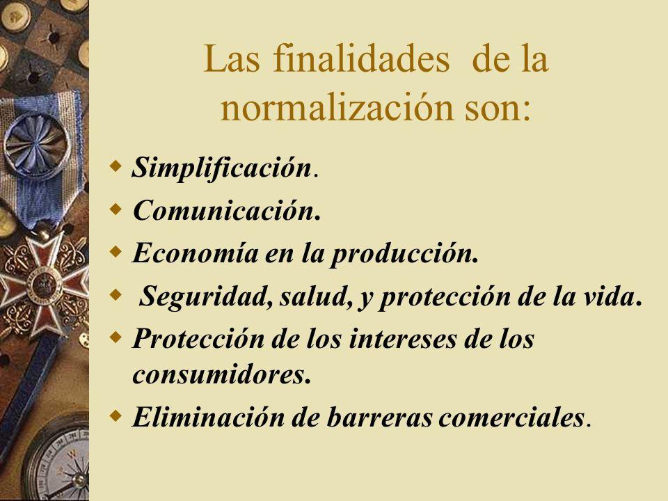 NORMALIZACION Y CERTIFICACION La normalización es la actividad que aporta soluciones para aplicaciones repetitivas que se desarrollan fundamentalmente
