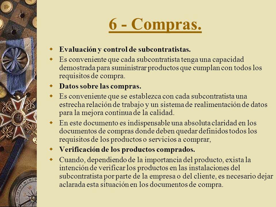 5 - Control de la documentación y de los datos. Aprobación y distribución de los documentos y de los datos. Los documentos y datos deben ser revisados