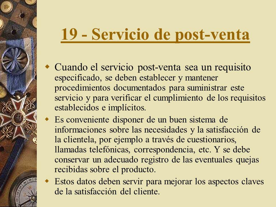18 - Capacitación. La capacitación debe abarcar al personal directivo, ejecutivo, técnico, supervisores y operadores y deben cubrir las necesidades de