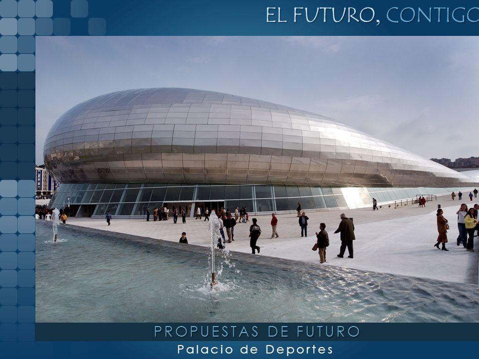 Template for Microsoft PowerPoint EL FUTURO, CONTIGO Palacio de Deportes PROPUESTAS DE FUTURO