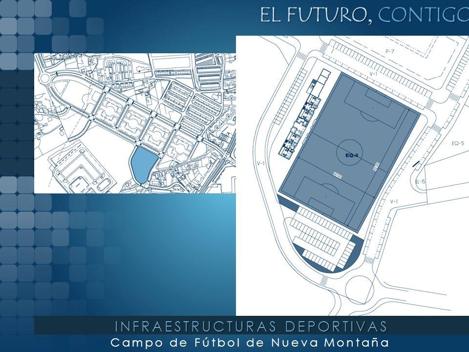 EL FUTURO, CONTIGO Área Deportiva en Peñacastillo INFRAESTRUCTURAS DEPORTIVAS
