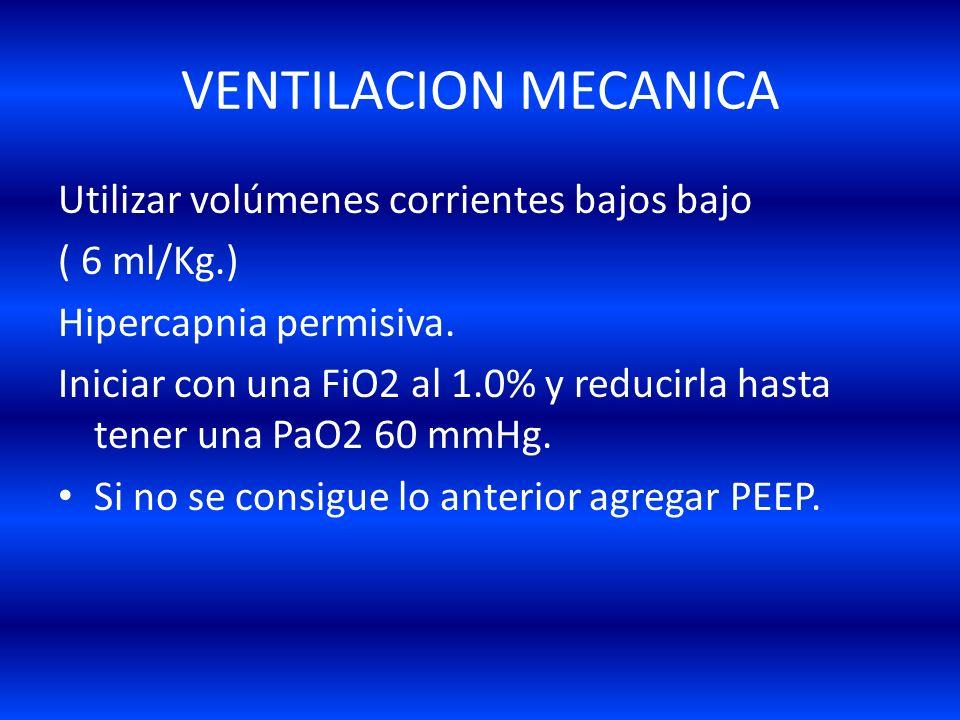 1.- Ventilación mecánica Baby lung (Gattinoni et al 1987) Volutrauma (Dreyfuss et al 1988) Baby lung (Gattinoni et al 1987) Volutrauma (Dreyfuss et al