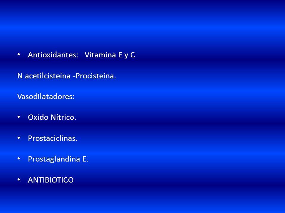 TRATAMIENTO FARMACOLOGICO Antinflamatorios: Corticoesteroides. Inhibidores de la ciclooxigenasa. Inhibidores de prostaglandinas,interleucinas. Surfact