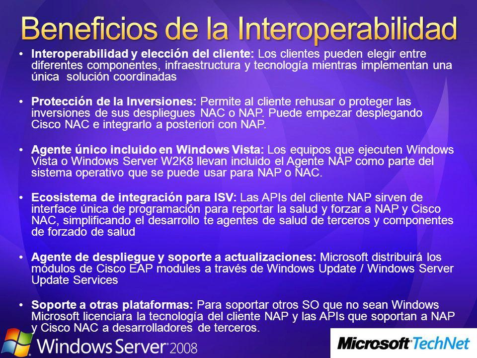 Interoperabilidad y elección del cliente: Los clientes pueden elegir entre diferentes componentes, infraestructura y tecnología mientras implementan u