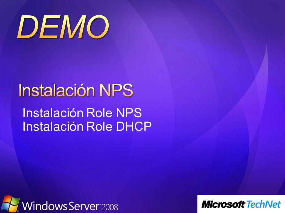 NPS se puede usar para autenticar diferentes tipos de conexiones incluyendo VPN, 802.1x, wireless 802.1x y servicios de acceso remoto NPS proporciona definición y cumplimiento de políticas pero no es una fuente para autenticación.
