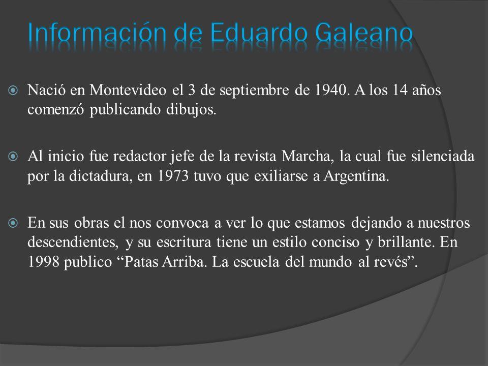 Nació en Montevideo el 3 de septiembre de 1940. A los 14 años comenzó publicando dibujos.