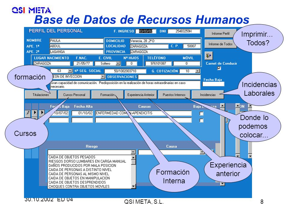 30.10.2002 ED 04 QSI META, S.L.8 Imprimir...Todos.
