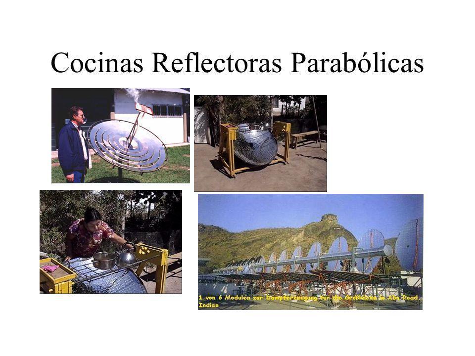 Cocinas Reflectoras Parabólicas