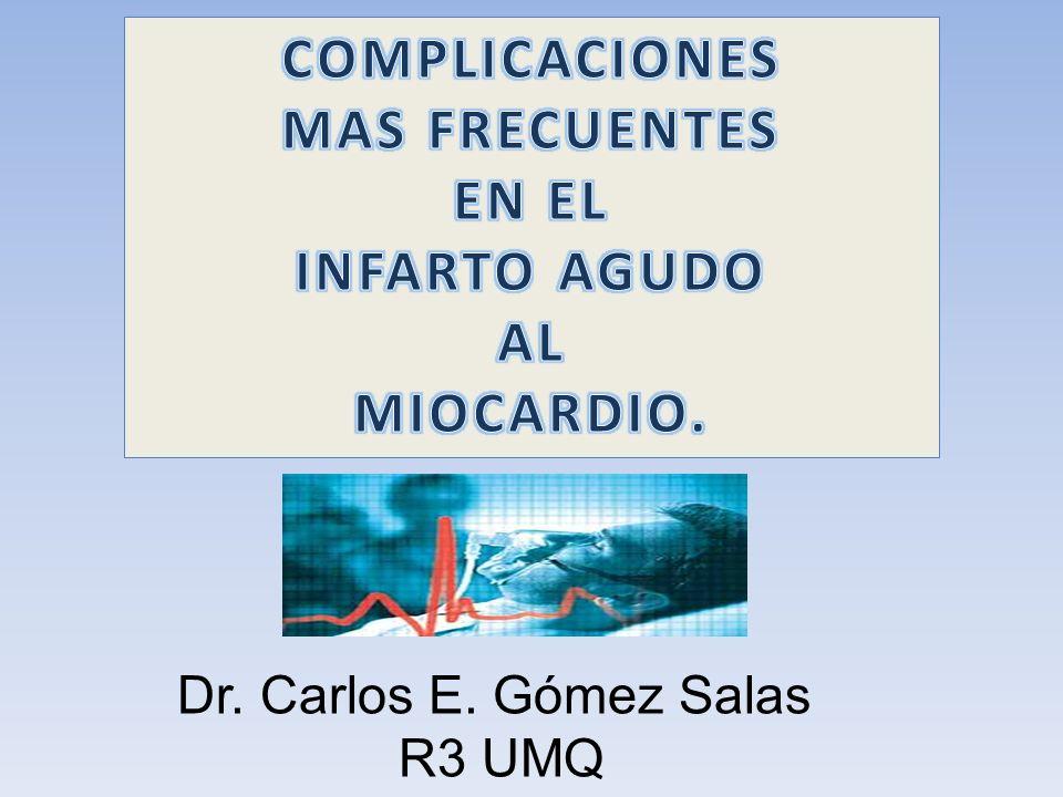 Dr. Carlos E. Gómez Salas R3 UMQ