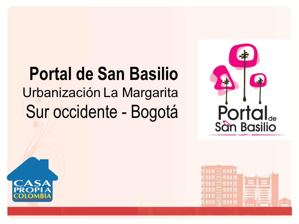 Portal de San Basilio Urbanización La Margarita Sur occidente - Bogotá