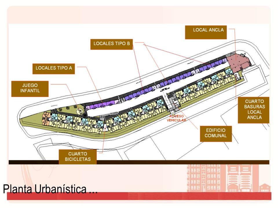 Planta Urbanística...