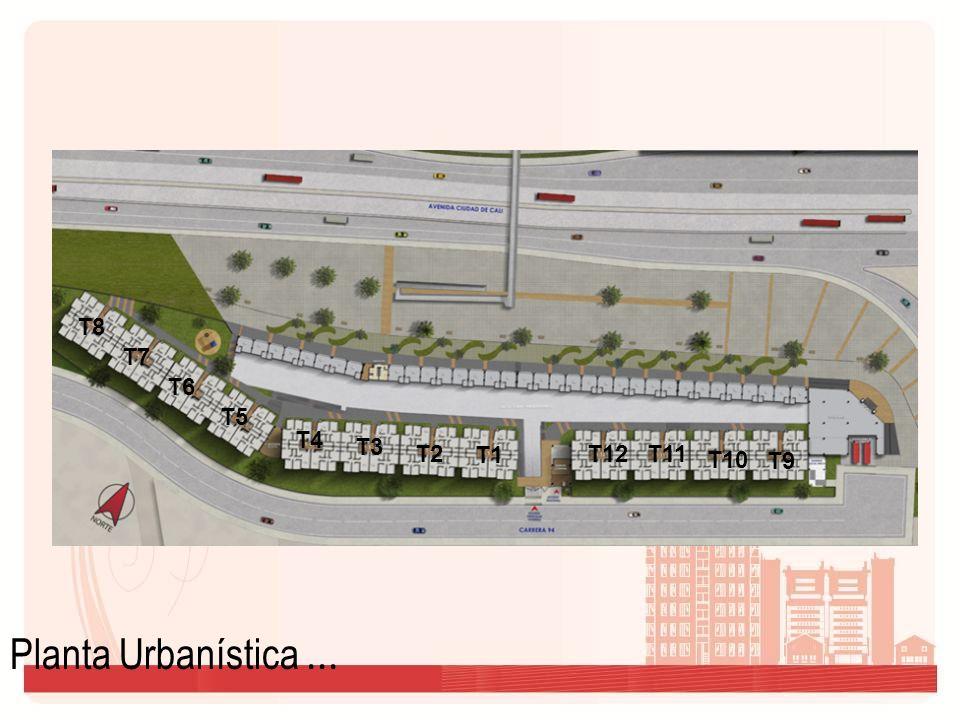 ZONAS COMUNES: Dentro del equipamiento comunal del proyecto podemos encontrar: Zonas verdes interiores alrededor de 2.300m2.