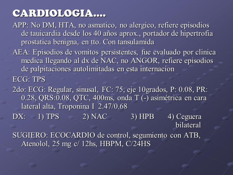 CARDIOLOGIA....