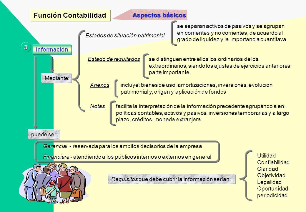 Aspectos básicos técnica de procesamiento de datos que permite obtener información sobre la composición y evolución del patrimonio de la empresa así c