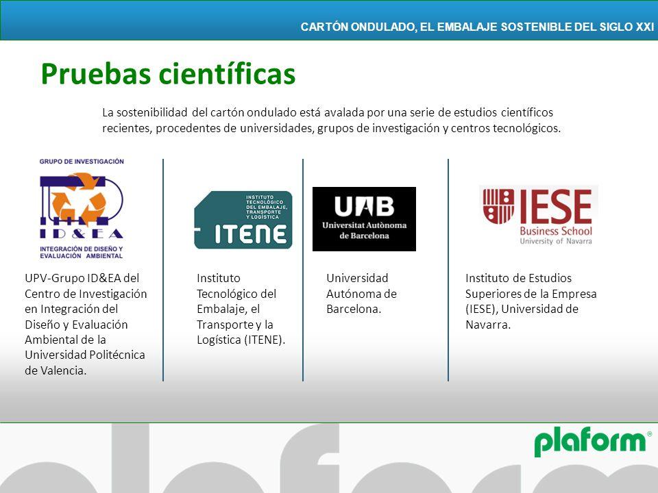 La sostenibilidad del cartón ondulado está avalada por una serie de estudios científicos recientes, procedentes de universidades, grupos de investigac