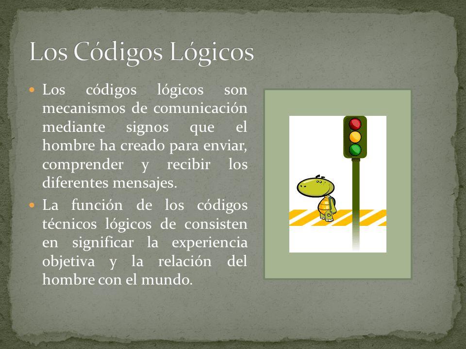 Los códigos lógicos son mecanismos de comunicación mediante signos que el hombre ha creado para enviar, comprender y recibir los diferentes mensajes.