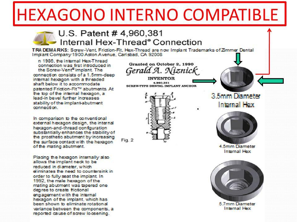 HEXAGONO INTERNO COMPATIBLE