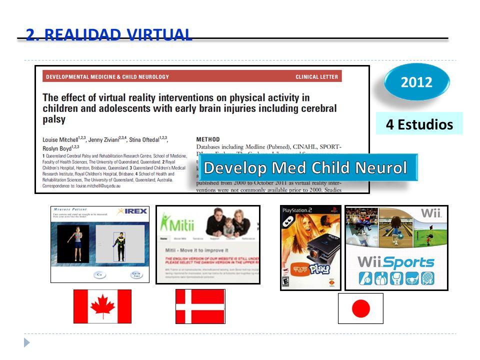2012 2. REALIDAD VIRTUAL 4 Estudios