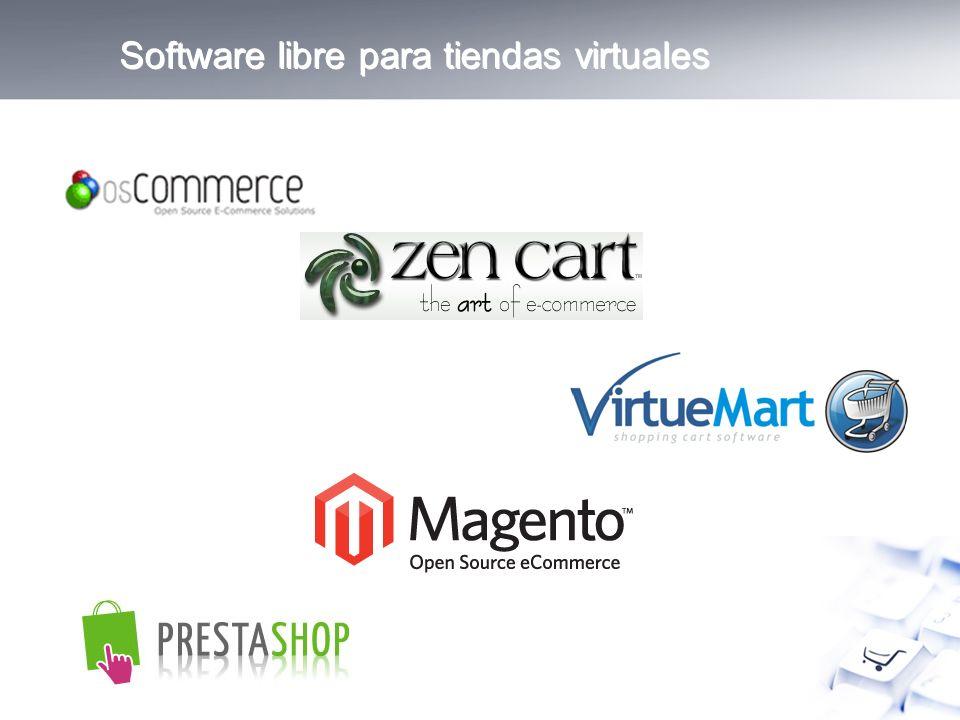Software libre para tiendas virtuales