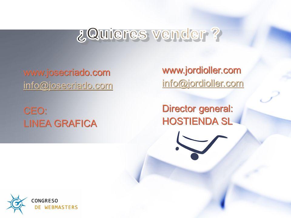 www.josecriado.com info@josecriado.com CEO: LINEA GRAFICA www.josecriado.com info@josecriado.com CEO: LINEA GRAFICA www.jordioller.com info@jordioller.com Director general: HOSTIENDA SL www.jordioller.com info@jordioller.com Director general: HOSTIENDA SL