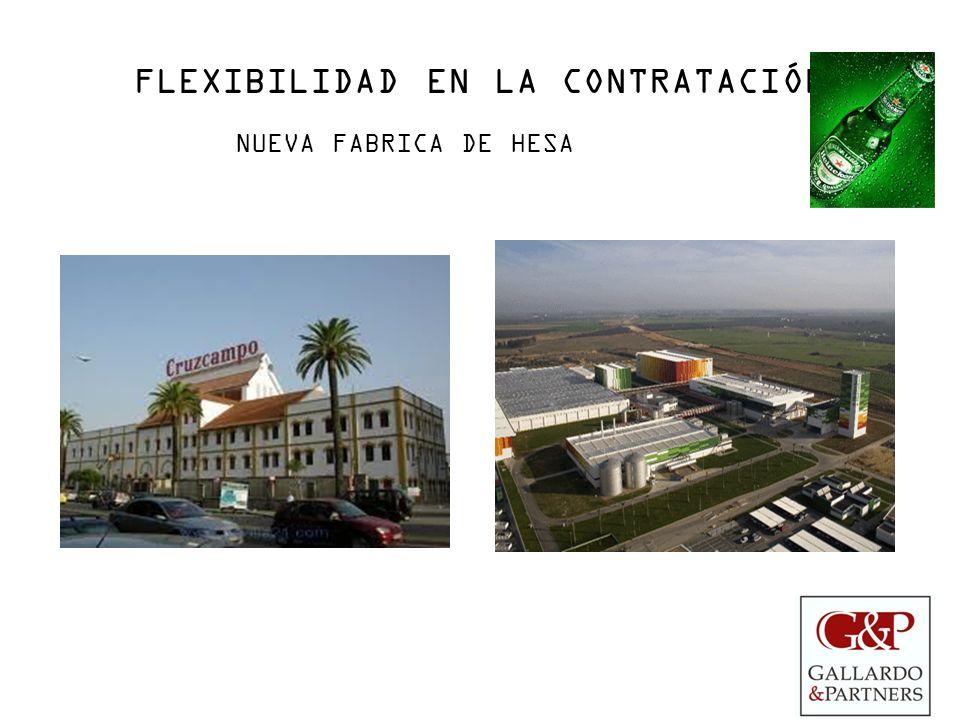 FLEXIBILIDAD EN LA CONTRATACIÓN NUEVA FABRICA DE HESA