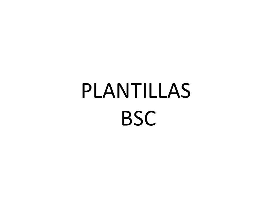 PLANTILLAS BSC