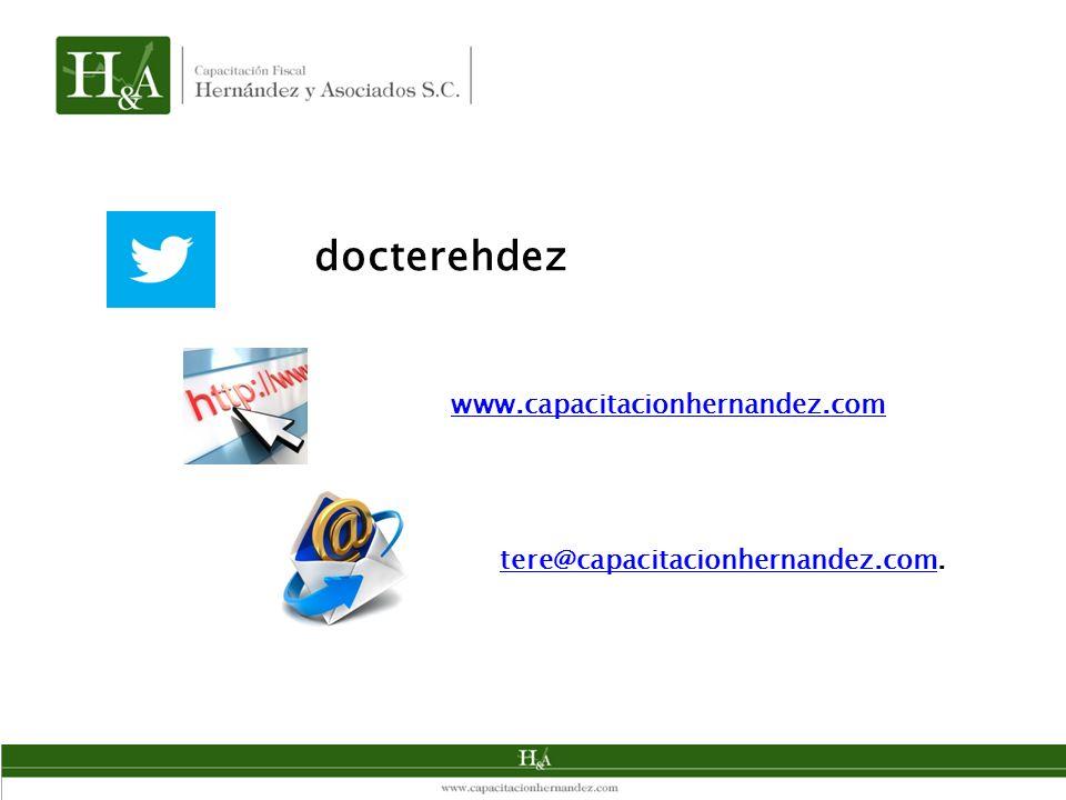 docterehdez www.capacitacionhernandez.com tere@capacitacionhernandez.com.tere@capacitacionhernandez.com