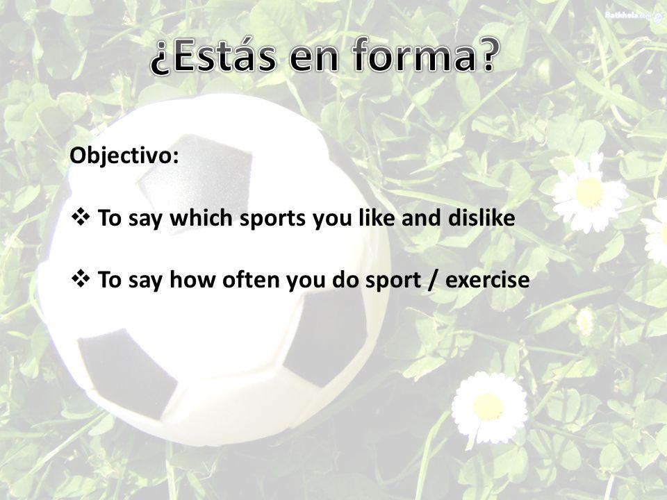 EspañolInglés 1 Se debe __________ ocho horas.You should get 8 hours sleep.