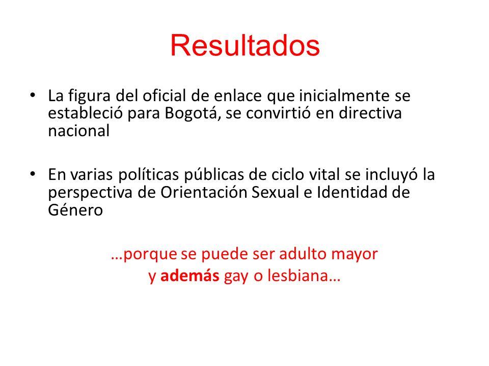 La figura del oficial de enlace que inicialmente se estableció para Bogotá, se convirtió en directiva nacional En varias políticas públicas de ciclo v