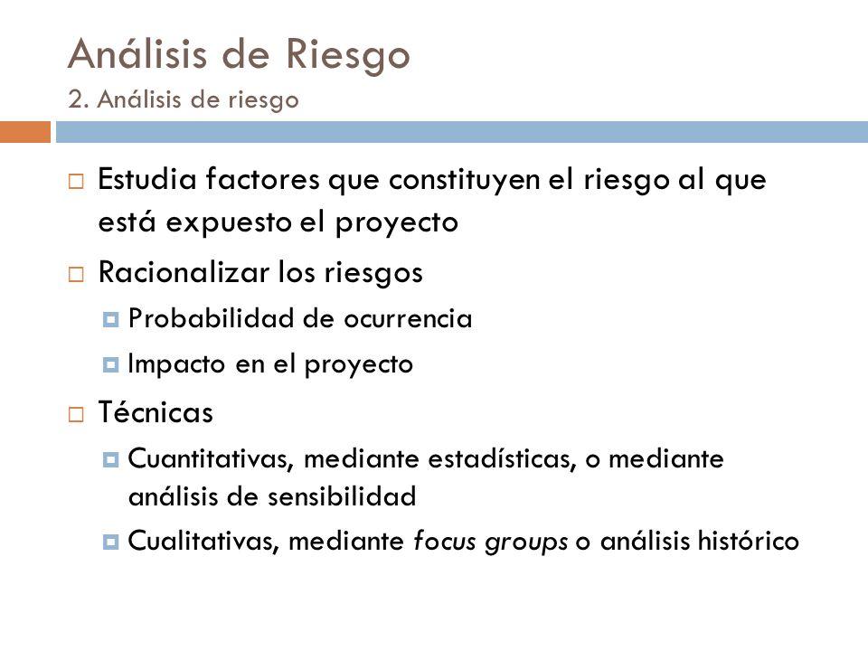 Análisis de Riesgo 2.