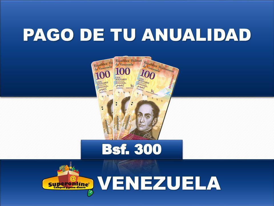 PAGO DE TU ANUALIDAD VENEZUELA