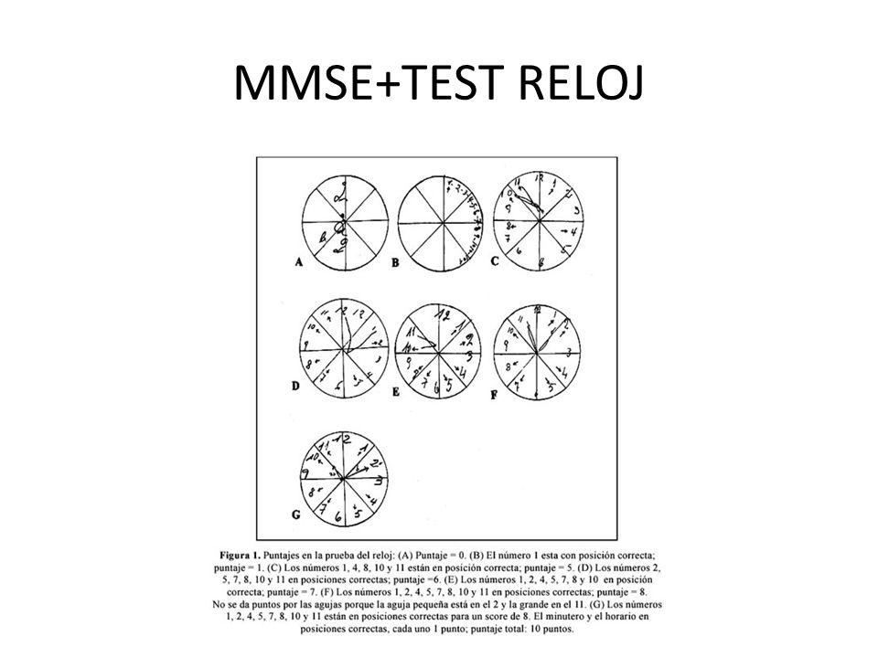 MMSE+TEST RELOJ