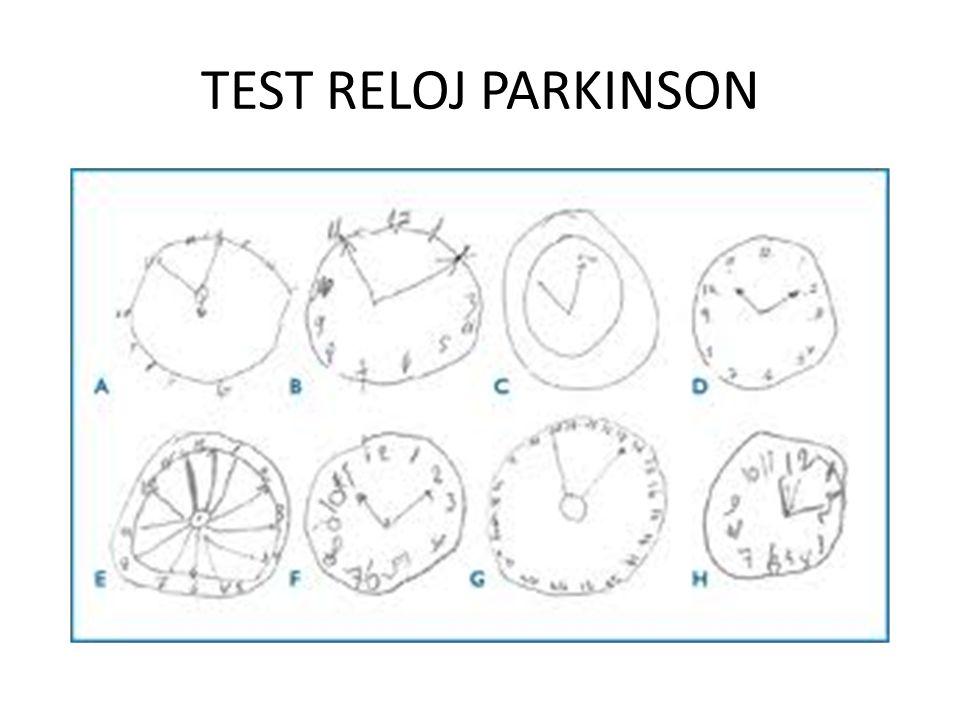 TEST RELOJ PARKINSON