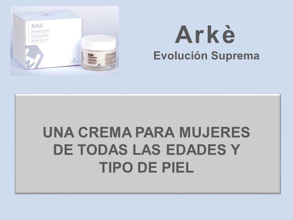 Arkè Evolución Suprema UNA CREMA PARA MUJERES DE TODAS LAS EDADES Y TIPO DE PIEL